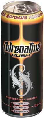 Весь февраль!  Adrenaline Rush энергетический напиток. магазины Рамстор.
